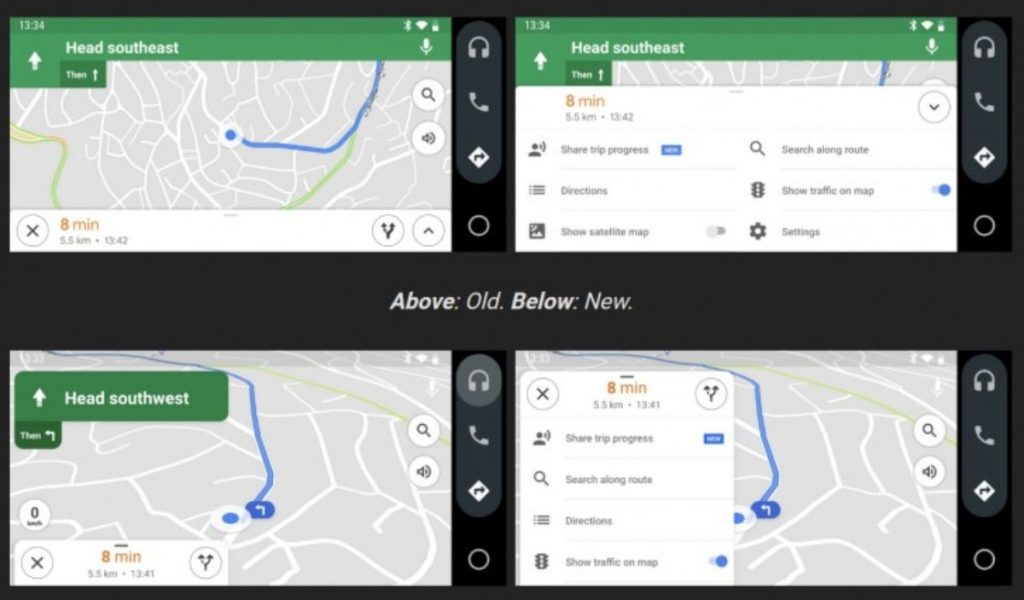 GOOGLE MAPSอัปเดตอะไรบน IOSและANDROID 2021