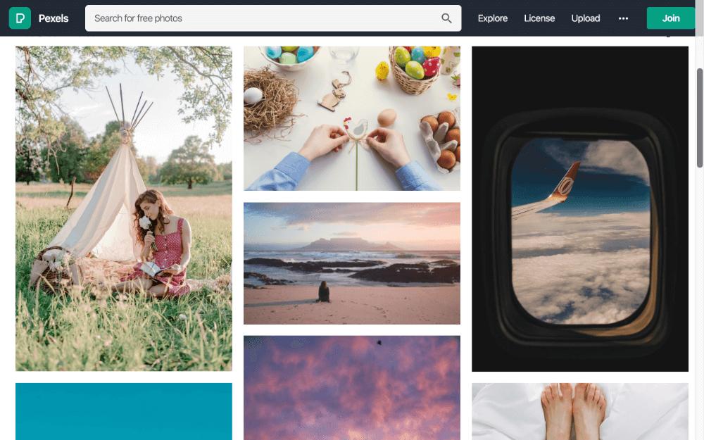 เว็บไซต์ใช้รูปภาพฟรี